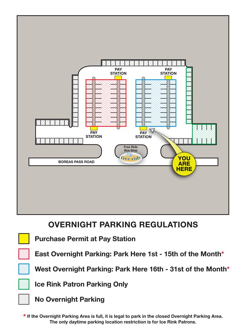 Breckenridge Overnight Parking